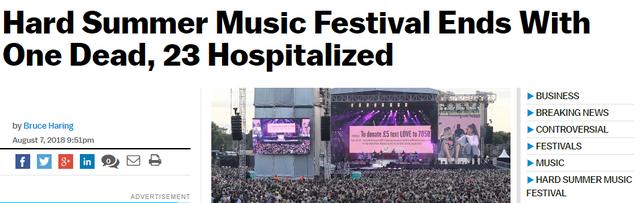 Những vụ nhập viện và tử vong do sốc thuốc tại nhạc hội gây chấn động truyền thông thế giới năm nay - Ảnh 7.