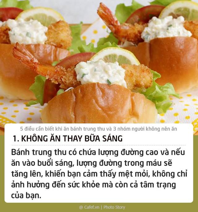 5 điều cần biết khi ăn bánh trung thu và 3 nhóm người không nên ăn - Ảnh 1.