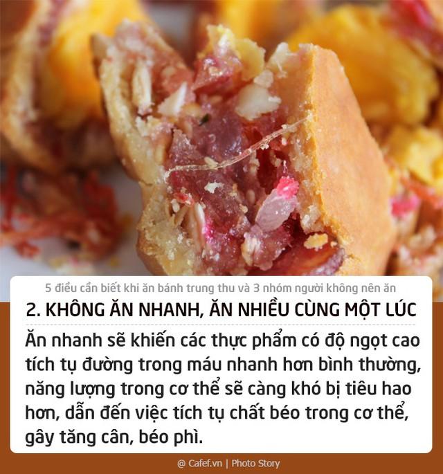 5 điều cần biết khi ăn bánh trung thu và 3 nhóm người không nên ăn - Ảnh 2.