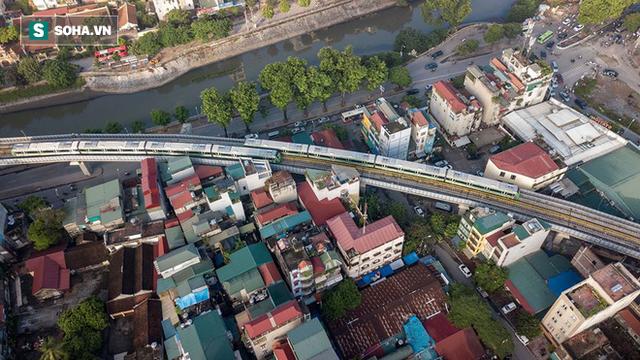 13 đoàn tàu đường sắt Cát Linh - Hà Đông đang chạy thử trong sáng nay - Ảnh 11.