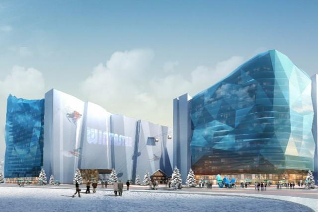 Khu nghỉ dưỡng và trượt tuyết trong nhà lớn nhất thế giới: Diện tích khủng, dự kiến mở cửa đúng Olympic mùa đông  - Ảnh 2.