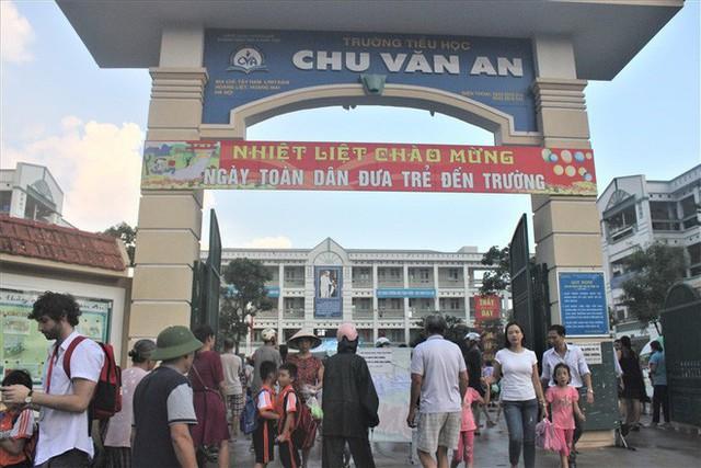 Lịch học lạ tại trường đông học sinh lớp 1 nhất Hà Nội - Ảnh 1.