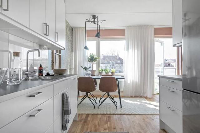 Căn hộ 2 phòng ngủ thiết kế ấn tượng với gam màu hồng cho những gia đình trẻ - Ảnh 11.