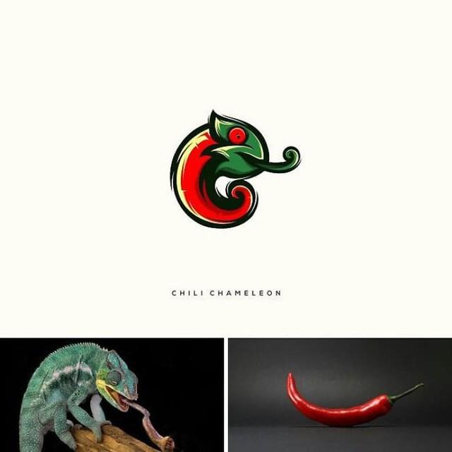 Kết hợp những thứ chẳng liên quan lại với nhau, designer Indonesia tạo ra loạt logo siêu sáng tạo - Ảnh 5.