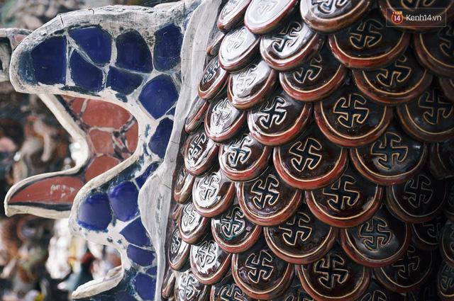 Chuyện về những người đi nhặt ve chai để xây nên ngôi chùa khảm miếng lớn nhất Đà Lạt - Ảnh 5.