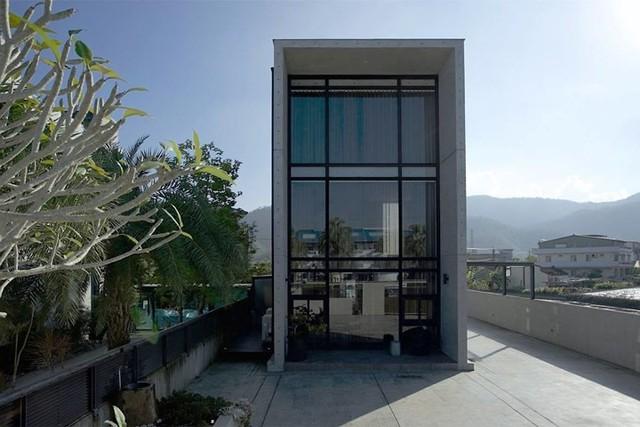Chiêm ngưỡng ngôi nhà 2 tầng hình ống sáng tạo - Ảnh 1.