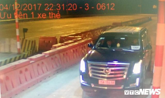 Siêu xe Cadillac gắn biển xe hộ đê trốn phí trên cao tốc Hà Nội – Hải Phòng - Ảnh 2.