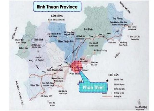 Bình Thuận vận động chủ đầu tư trả lại dự án đảo nhân tạo - Ảnh 1.
