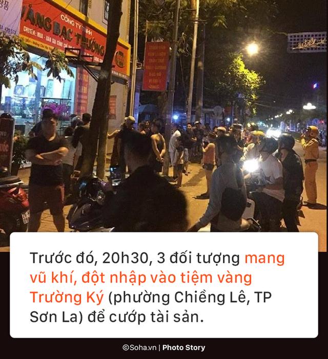 [PHOTO STORY] Lý lịch bất hảo của nhóm cướp vật lộn với bà chủ tiệm vàng ở Sơn La - Ảnh 3.