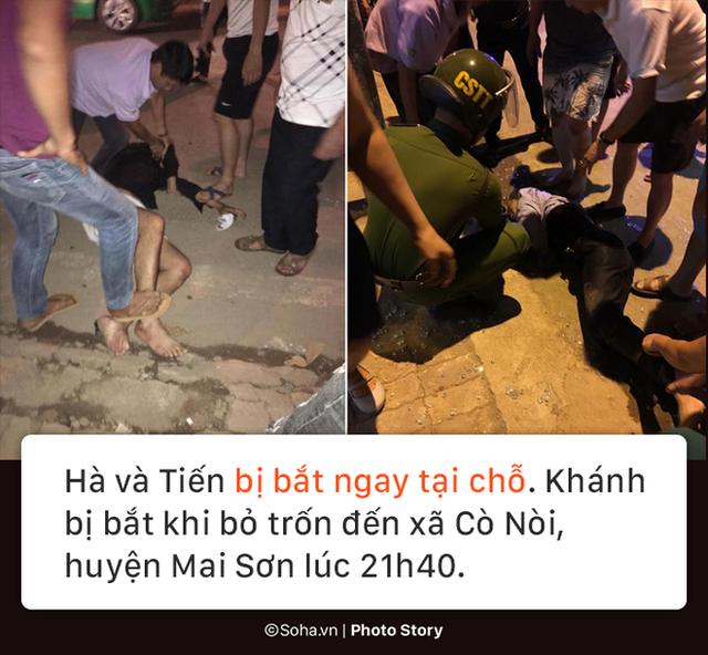 [PHOTO STORY] Lý lịch bất hảo của nhóm cướp vật lộn với bà chủ tiệm vàng ở Sơn La - Ảnh 8.