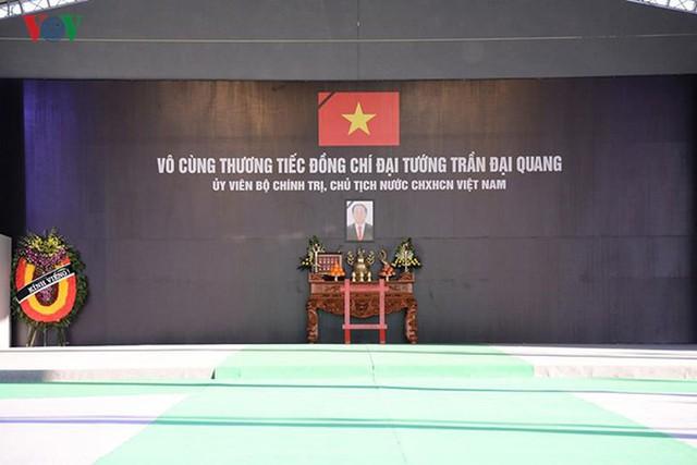 Lễ viếng Chủ tịch nước Trần Đại Quang tại quê nhà Quang Thiện - Ảnh 1.