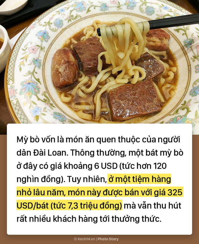 """Đài Bắc: Đắt nhưng chất, bát """"Mỳ Tổng Thống"""" có giá lên tới 7 triệu đồng - Ảnh 1."""