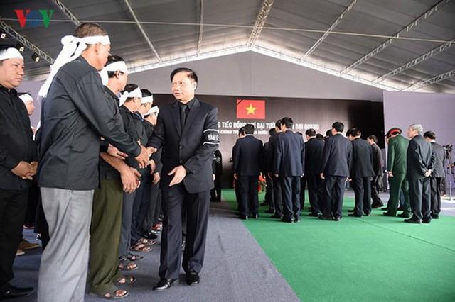 Lễ viếng Chủ tịch nước Trần Đại Quang tại quê nhà Quang Thiện - Ảnh 12.