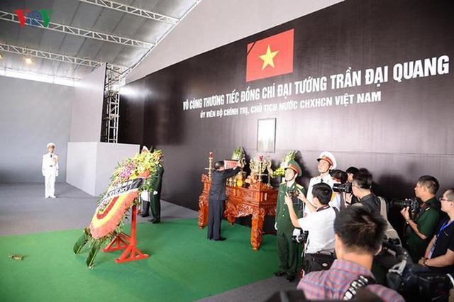 Lễ viếng Chủ tịch nước Trần Đại Quang tại quê nhà Quang Thiện - Ảnh 13.