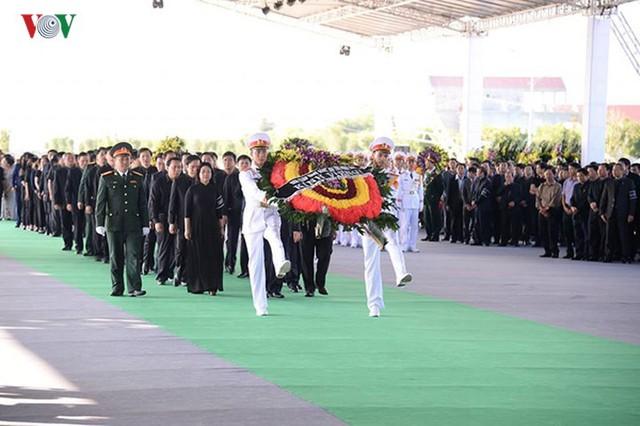 Lễ viếng Chủ tịch nước Trần Đại Quang tại quê nhà Quang Thiện - Ảnh 14.