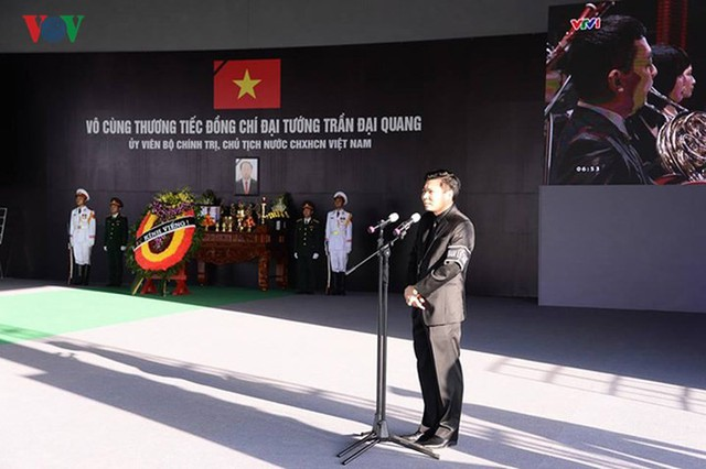 Lễ viếng Chủ tịch nước Trần Đại Quang tại quê nhà Quang Thiện - Ảnh 5.