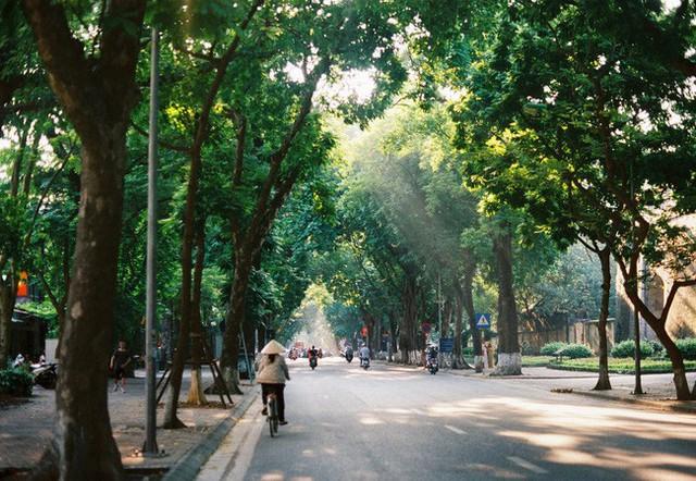 Có một Hà Nội rất khác những ngày này, bình yên và đẹp mơ màng trong nắng mùa thu - Ảnh 5.