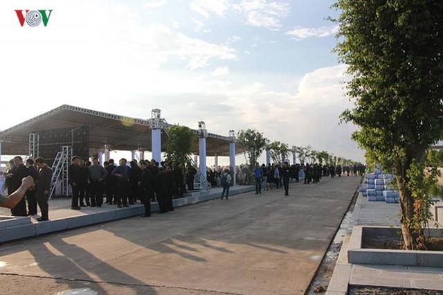 Lễ viếng Chủ tịch nước Trần Đại Quang tại quê nhà Quang Thiện - Ảnh 6.