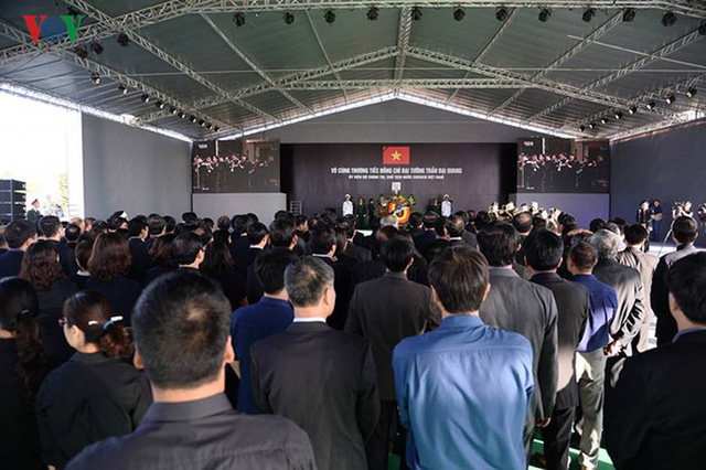 Lễ viếng Chủ tịch nước Trần Đại Quang tại quê nhà Quang Thiện - Ảnh 8.