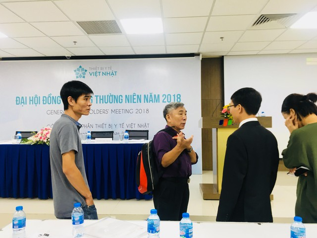 ĐHĐCĐ Thiết bị Y tế Việt Nhật (JVC) bất thành, cổ đông bức xúc muốn ý kiến lên UBCKNN - Ảnh 1.