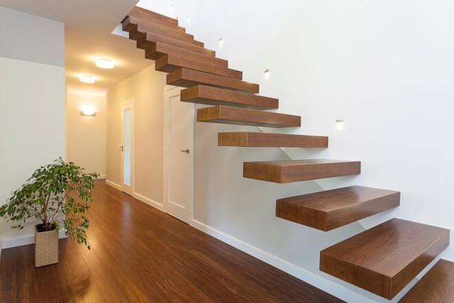 Tròn mắt với những mẫu cầu thang gỗ cực kỳ sáng tạo và độc đáo - Ảnh 6.