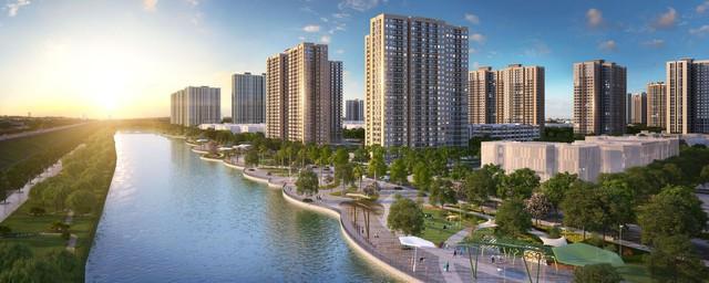 Ngắm toàn cảnh siêu dự án lớn nhất từ trước đến nay của Vingroup ở Hà Nội chuẩn bị được ra mắt - Ảnh 4.