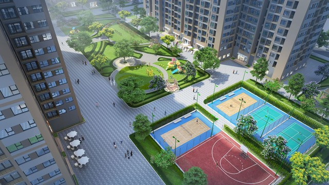 Ngắm toàn cảnh siêu dự án lớn nhất từ trước đến nay của Vingroup ở Hà Nội chuẩn bị được ra mắt - Ảnh 7.