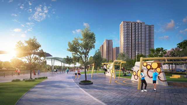 Ngắm toàn cảnh siêu dự án lớn nhất từ trước đến nay của Vingroup ở Hà Nội chuẩn bị được ra mắt - Ảnh 8.