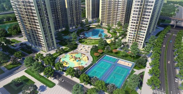 Ngắm toàn cảnh siêu dự án lớn nhất từ trước đến nay của Vingroup ở Hà Nội chuẩn bị được ra mắt - Ảnh 9.