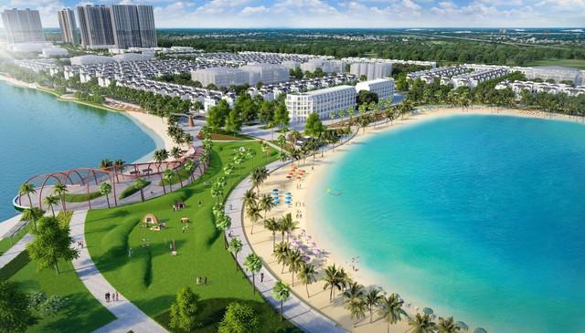 Ngắm toàn cảnh siêu dự án lớn nhất từ trước đến nay của Vingroup ở Hà Nội chuẩn bị được ra mắt - Ảnh 6.