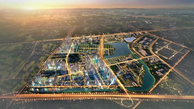 Ngắm toàn cảnh siêu dự án lớn nhất từ trước đến nay của Vingroup ở Hà Nội chuẩn bị được ra mắt - Ảnh 2.