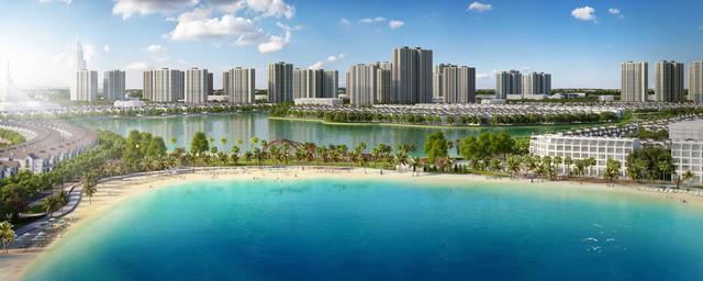 Ngắm toàn cảnh siêu dự án lớn nhất từ trước đến nay của Vingroup ở Hà Nội chuẩn bị được ra mắt - Ảnh 3.