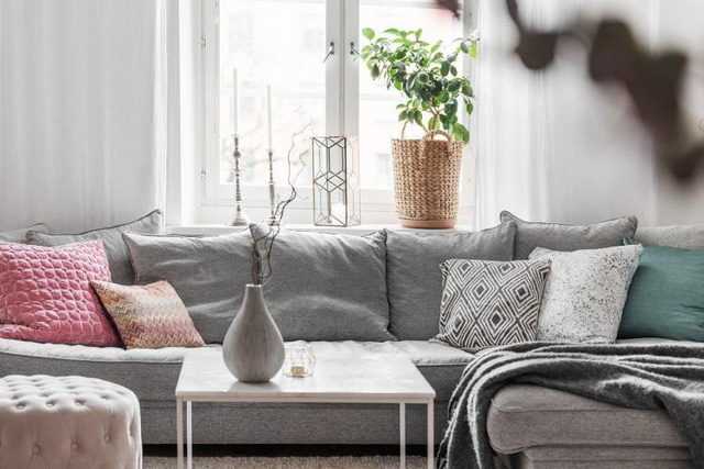 Học cách thiết kế căn hộ 66m2 hiện đại, tiện nghi cho gia đình trẻ - Ảnh 4.