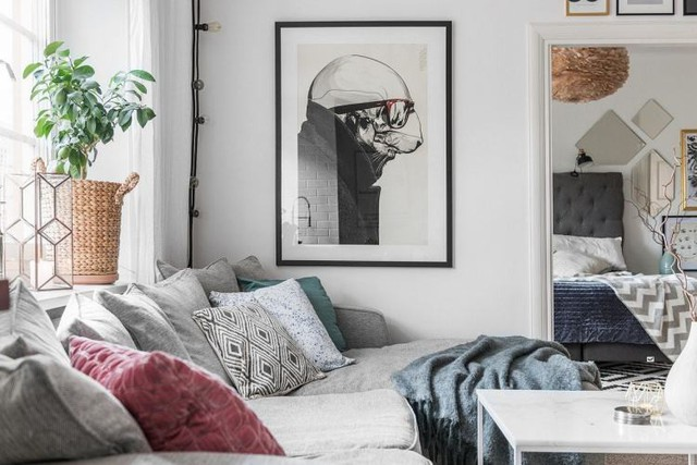 Học cách thiết kế căn hộ 66m2 hiện đại, tiện nghi cho gia đình trẻ - Ảnh 5.