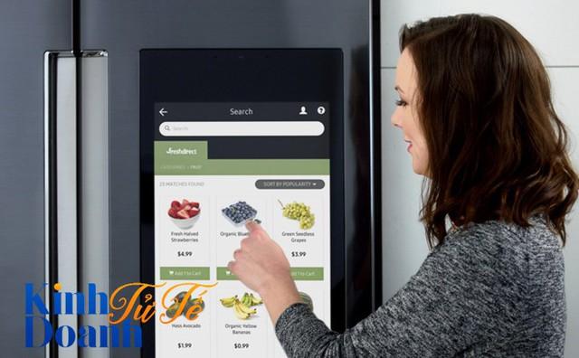 IoT cho bà nội trợ và gian bếp 4.0 của Samsung - Ảnh 1.