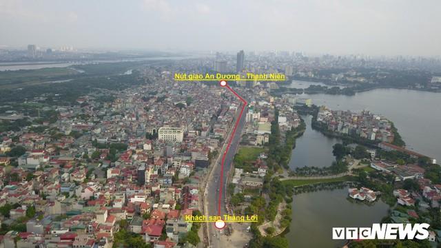 Ảnh: Dự án cầu vượt An Dương - Thanh Niên hơn 300 tỷ đồng ở Hà Nội sắp hoàn thành - Ảnh 1.