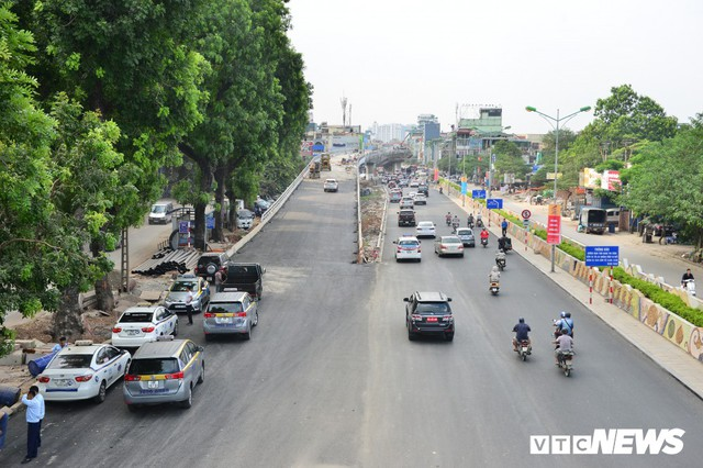 Ảnh: Dự án cầu vượt An Dương - Thanh Niên hơn 300 tỷ đồng ở Hà Nội sắp hoàn thành - Ảnh 2.