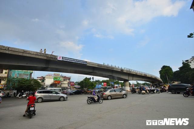 Ảnh: Dự án cầu vượt An Dương - Thanh Niên hơn 300 tỷ đồng ở Hà Nội sắp hoàn thành - Ảnh 6.