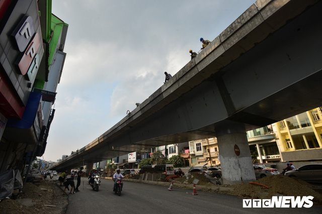 Ảnh: Dự án cầu vượt An Dương - Thanh Niên hơn 300 tỷ đồng ở Hà Nội sắp hoàn thành - Ảnh 7.
