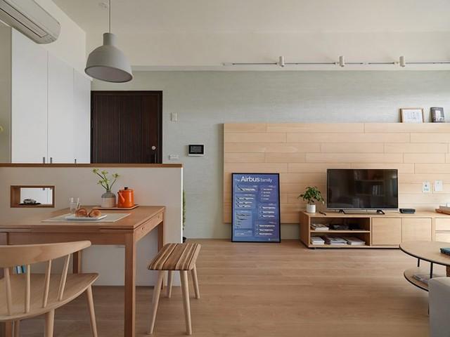 Căn hộ 80 m2 trang trí tối giản mà thân thiện - Ảnh 1.