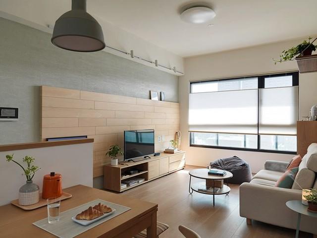 Căn hộ 80 m2 trang trí tối giản mà thân thiện - Ảnh 2.