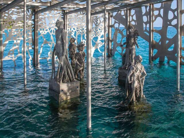 Khám phá phòng trưng bày nghệ thuật thủy triều độc đáo tại Maldives - thiên đường hạ giới ai cũng nên đến một lần trong đời - Ảnh 10.