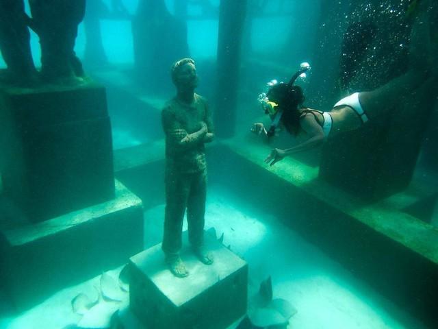 Khám phá phòng trưng bày nghệ thuật thủy triều độc đáo tại Maldives - thiên đường hạ giới ai cũng nên đến một lần trong đời - Ảnh 11.