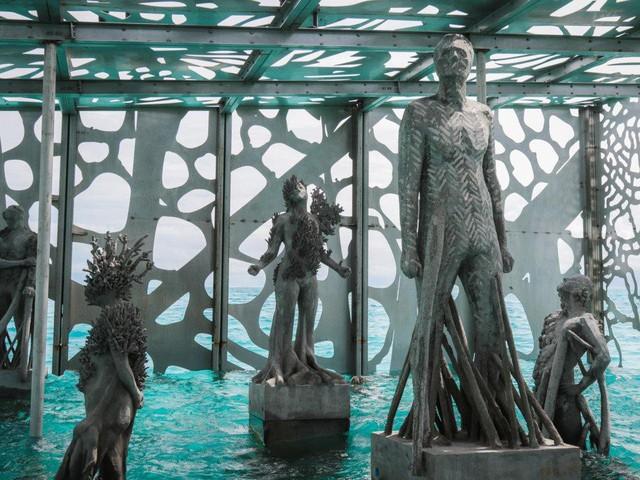 Khám phá phòng trưng bày nghệ thuật thủy triều độc đáo tại Maldives - thiên đường hạ giới ai cũng nên đến một lần trong đời - Ảnh 15.