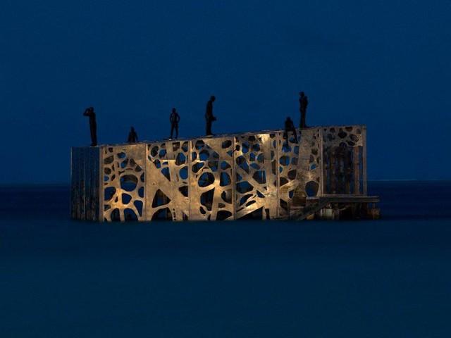 Khám phá phòng trưng bày nghệ thuật thủy triều độc đáo tại Maldives - thiên đường hạ giới ai cũng nên đến một lần trong đời - Ảnh 16.