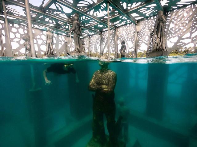 Khám phá phòng trưng bày nghệ thuật thủy triều độc đáo tại Maldives - thiên đường hạ giới ai cũng nên đến một lần trong đời - Ảnh 18.