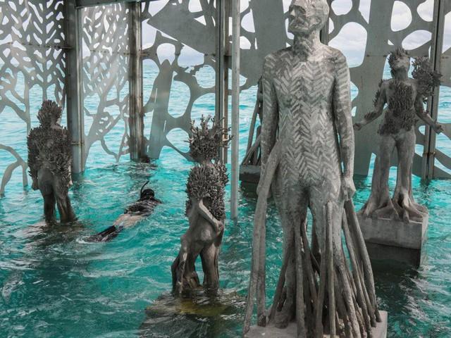 Khám phá phòng trưng bày nghệ thuật thủy triều độc đáo tại Maldives - thiên đường hạ giới ai cũng nên đến một lần trong đời - Ảnh 21.