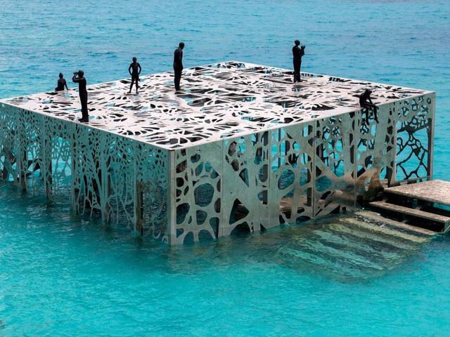 Khám phá phòng trưng bày nghệ thuật thủy triều độc đáo tại Maldives - thiên đường hạ giới ai cũng nên đến một lần trong đời - Ảnh 5.