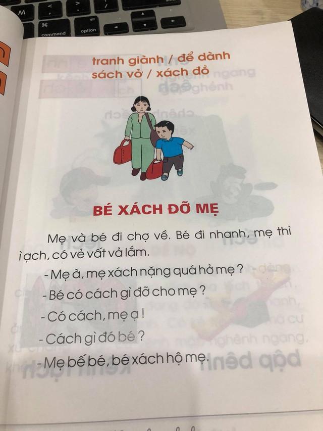 Phụ huynh lo ngại trước bộ sách Tiếng Việt lớp 1: Các thành ngữ đều nặng nề, bài đọc thì xỉa xói nhiều hơn là giáo dục - Ảnh 6.