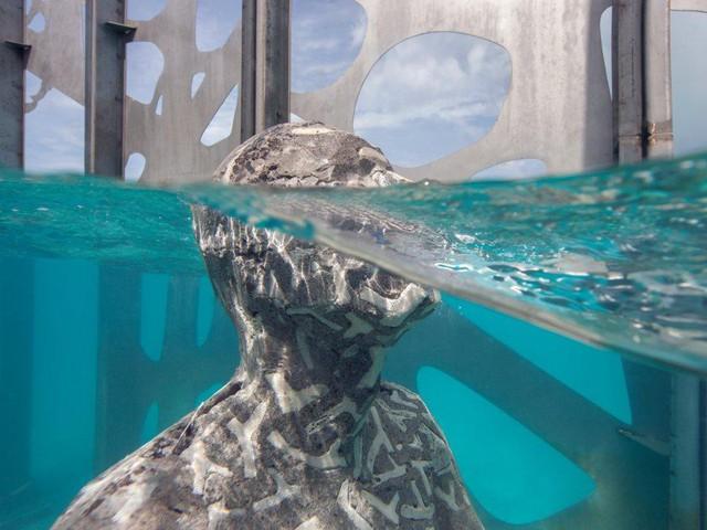 Khám phá phòng trưng bày nghệ thuật thủy triều độc đáo tại Maldives - thiên đường hạ giới ai cũng nên đến một lần trong đời - Ảnh 9.